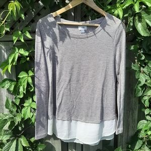 ❄3/$30-Old Navy layered top